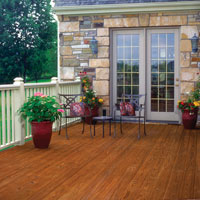 Image of wood deck.